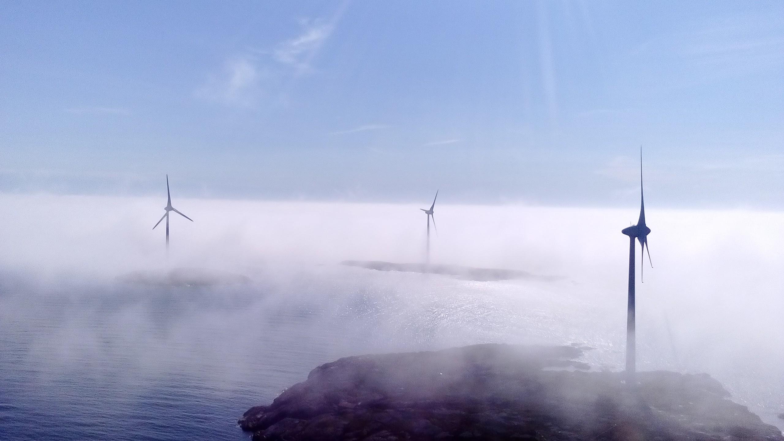 Dimma på båtskär